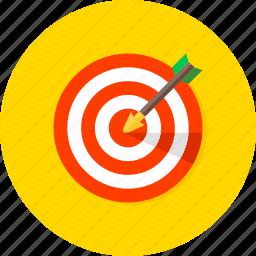 achievement, business, finance, financial, goal, success, target icon