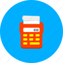 accounting, calculate, calculation, calculator, financial, mathematics, tax icon