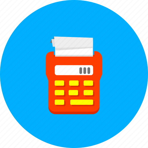 accounting, calculate, calculation, calculator, financial, mathematics, tax icon