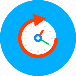 business, clock, management, schedule, time, timer, watch icon