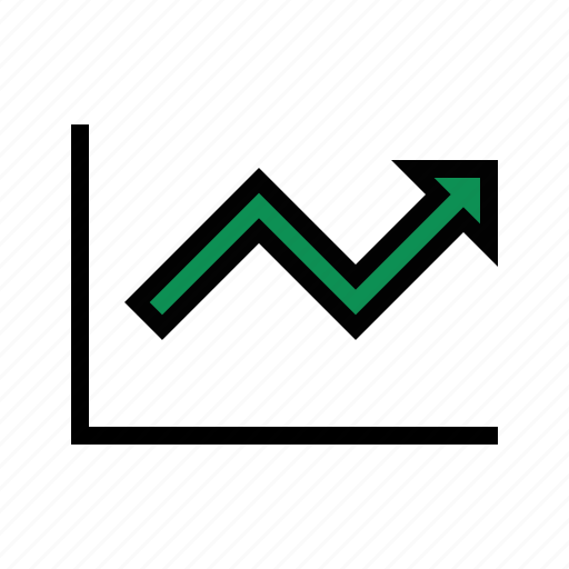 analytics, financial growth, performance, profit, sales growth, upward icon