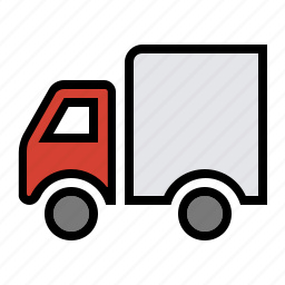 cargo, delivery, delivery truck, shipping, truck, van icon