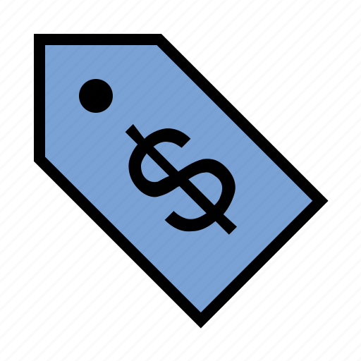 cost, discount, dollar, price, purchase, retail, tag icon