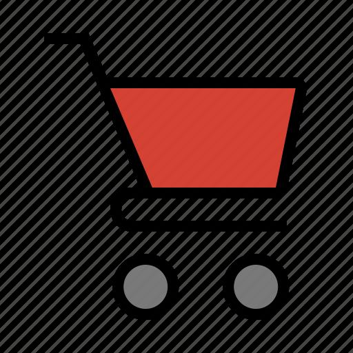 basket, cart, checkout, ecommerce, retail, shopping icon