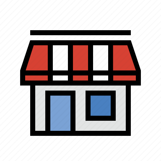 brick and mortar, business, commerce, retail, shop, store icon