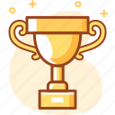 achievement, business, madel, trophy, win, winner icon