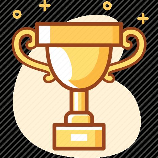 achievement, business, madel, trophy, win, winner icon