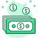 business, cash, dollar, money, payment, saving icon