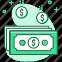 business, cash, dollar, money, payment, saving icon