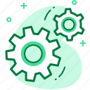 business, configuration, customize, gear, management, options icon