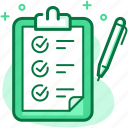 board, business, checklist, list, pencil, plan, to-do icon