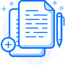 business, document, files, note, page, write icon