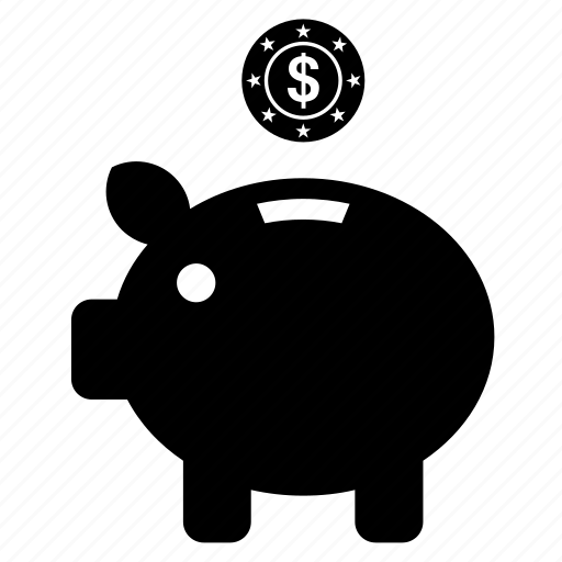 bank, business, cash box, finance, money, money box, piggybank icon