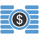 cent, coin, dollar, finance, financial, gold, money icon