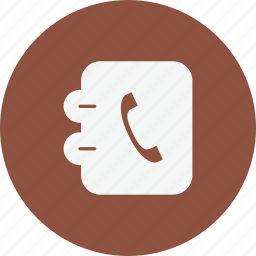 business, finance, phonebook, trade icon