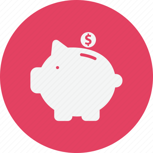business, finance, piggy, trade icon