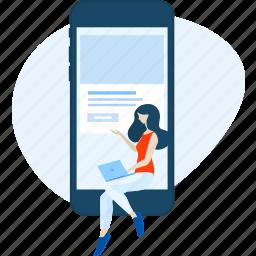 communication, e-commerce, media, mobile, smartphone, social, website