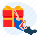 delivery, e-commerce, present, sale, shop, shopping, store icon