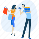 buy, e-commerce, people, sale, shop, shopping, store icon