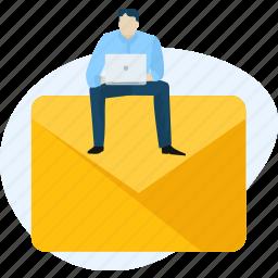 communication, e-mail, mail, marketing, media, message, social