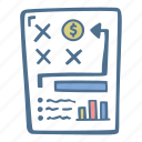 business, finance, plan icon