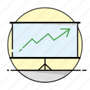 business, chart, development, increase icon