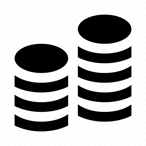 coin, coins, finance, money icon