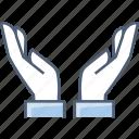 gesture, gestures, hand, hands icon