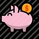 bank, business, finance, money, money box, piggy, saving icon