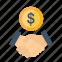 agreement, business, currency, deal, dollar, finance, handshake