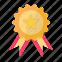 achievement, award, business, finance, reward, star icon