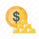 business, dollar, finance, gold, mining, price