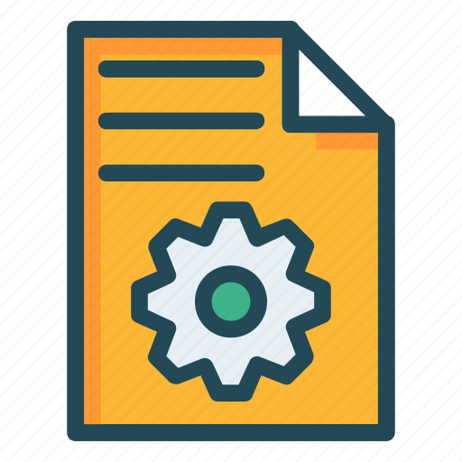 configure, document, file, page, sheet icon