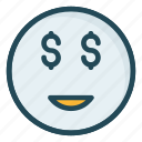 emoji, face, happy, react, smiley icon
