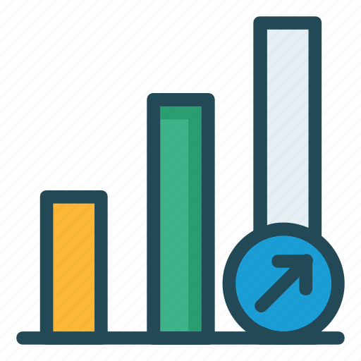 chart, diagram, graph, growth, statistic icon
