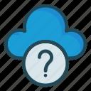 cloud, help, question, server, storage