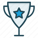 achievement, cup, prize, reward, trophy icon