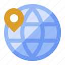 atlas, earth, globe, international, travel, world icon