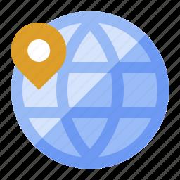 atlas, earth, globe, international, travel, world icon