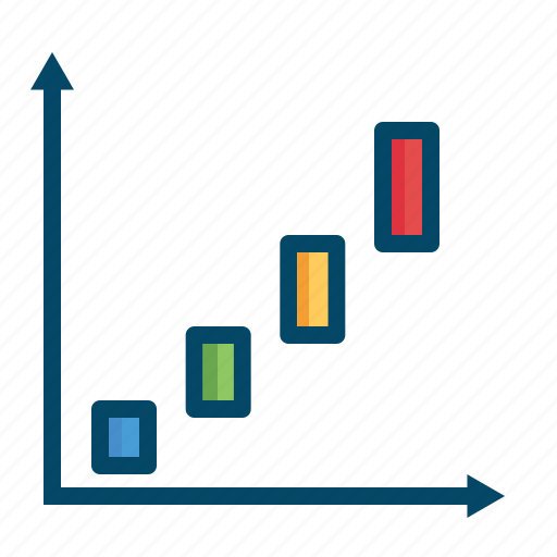 analysis, bar, business, chart, finance, graphs, report icon