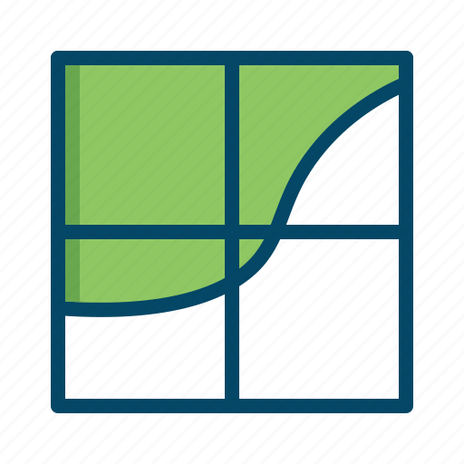 analysis, analytics, area, business, graphs, report, statistics icon