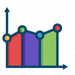 analysis, analytics, business, graphs, line, report, statistics icon