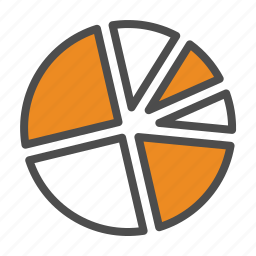 business, chart, graphs, pie icon