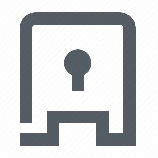 lock, money, protection, safe, security icon