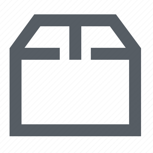 box, carton, moving, package, storage icon