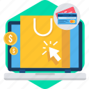 business, buy, click, online, payment, ppc, sale icon