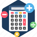 calc, calculator, math, mathemetic, mathemetics, maths