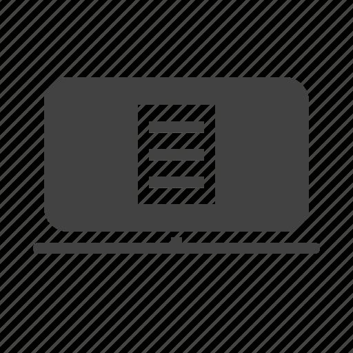 account, bank, credit, e-statemetn, report, statement icon