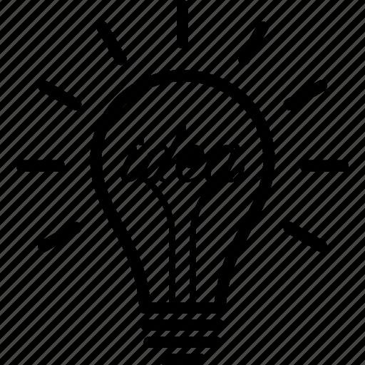 bulb, entrepreneur, entrepreneurship, idea, innovation, light, lightbulb icon