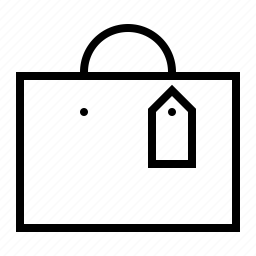 bag, checkout, ecommerce, gift, purchase, sales, shopping icon